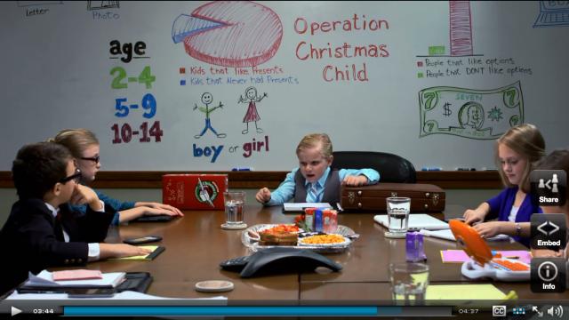 Operation Christmas Child 2015